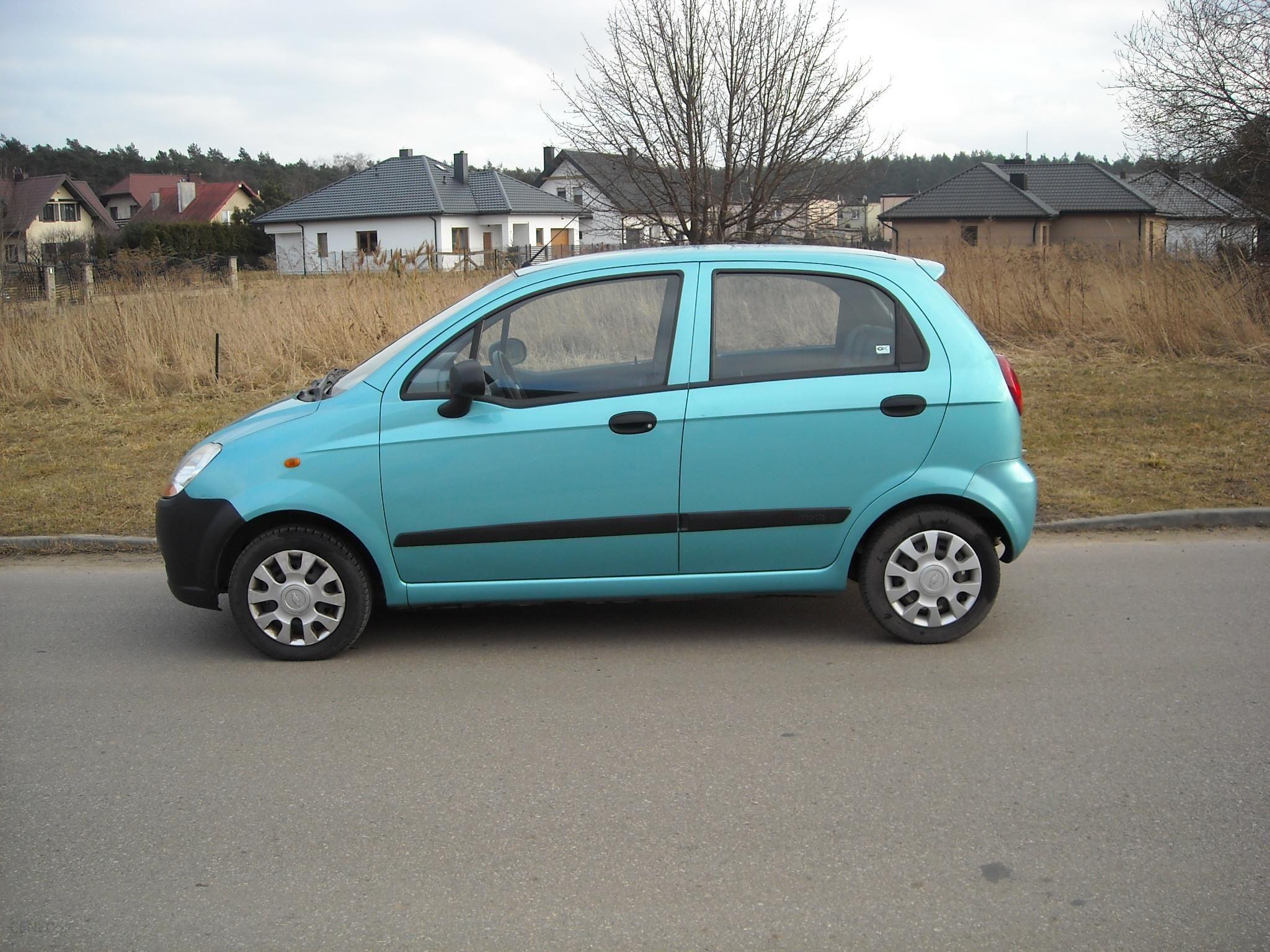 Chevrolet Matiz 2006 Benzyna 52km Hatchback Niebieski Opinie I