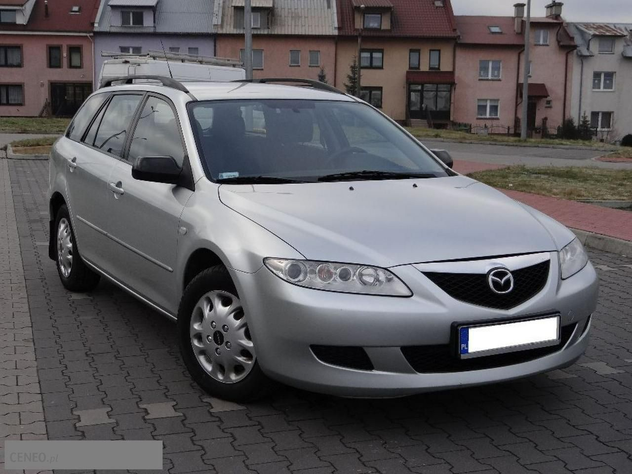 mazda 6 i 2005 diesel 121km kombi srebrny opinie i ceny na. Black Bedroom Furniture Sets. Home Design Ideas