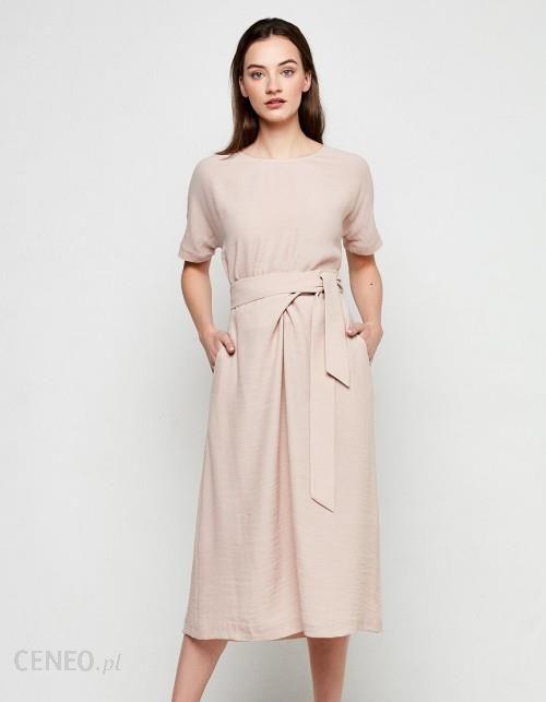 5809f9ea79 PATRIZIA ARYTON Sukienka wiązana w talii - Ceny i opinie - Ceneo.pl