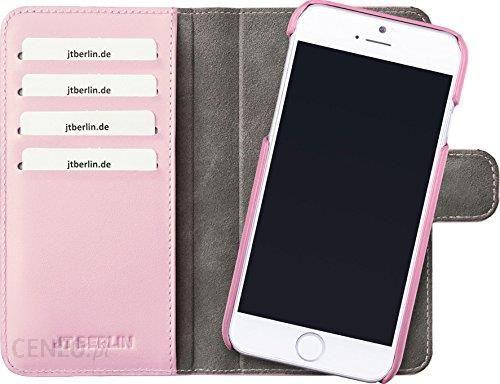 Amazon Jt Berlinie Skórzana Book Style Do Apple Iphone 7 Plus W Kolorze Czarnym Prawdziwa Skóra Rękodzieło
