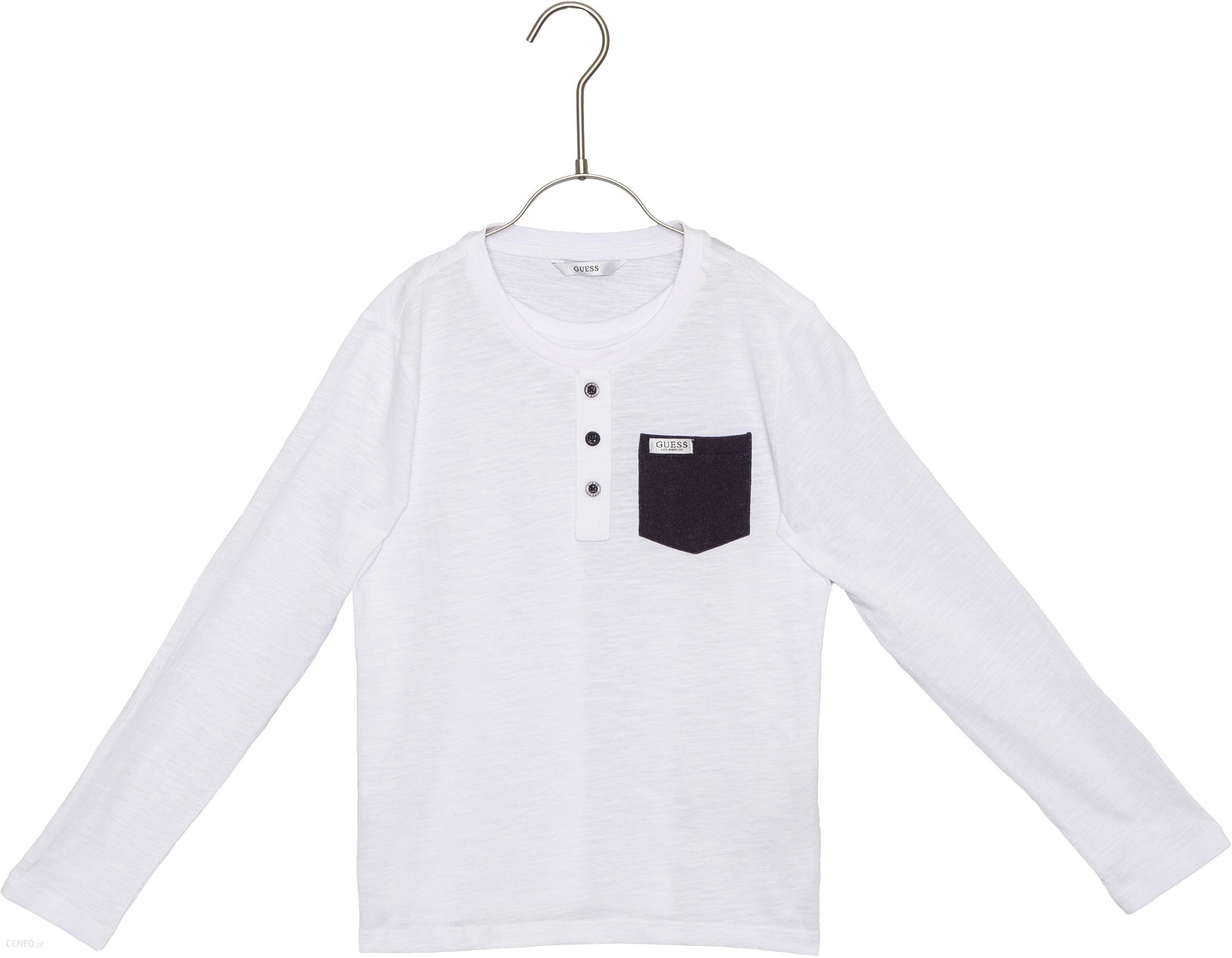 94c4b450a Guess Koszulka dziecięce Biały 8 lat - Ceny i opinie - Ceneo.pl