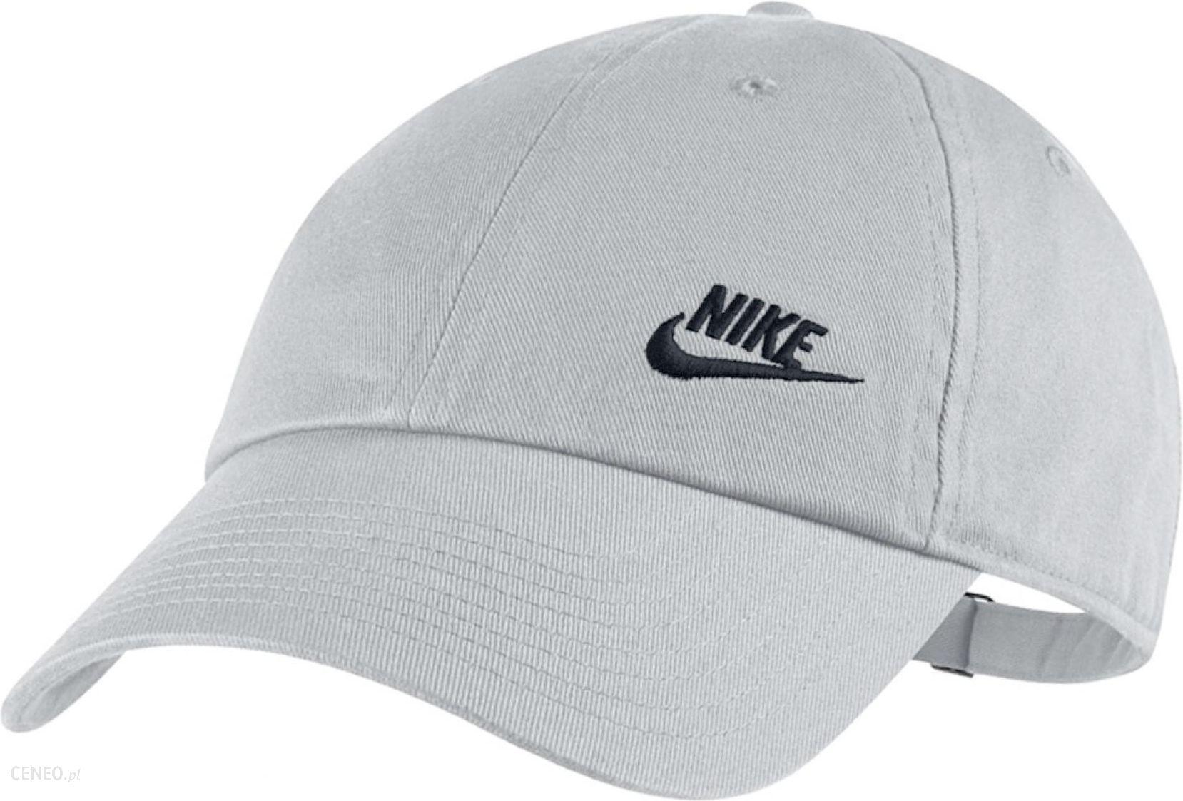 Nike Czapka z daszkiem Damska 832597 092 szara Ceny i opinie Ceneo.pl