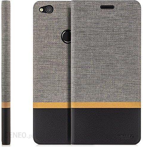 Amazon Zanasta Designs Futerał Na Huawei P8 Lite 2017 Pokrowiec Flip Case Pokrowiec Ochronny Etui Na Telefon Z Kieszenią Na Karty Szary Ceneo Pl