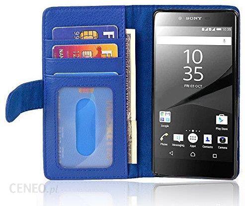 promo code f7bbf ebff7 Amazon cador Abo – Book Style etui do > Sony Xperia Z5 < – Case Cover etui  ochronne z 3 kieszenie na karty kredytowe, Sony Xperia Z5