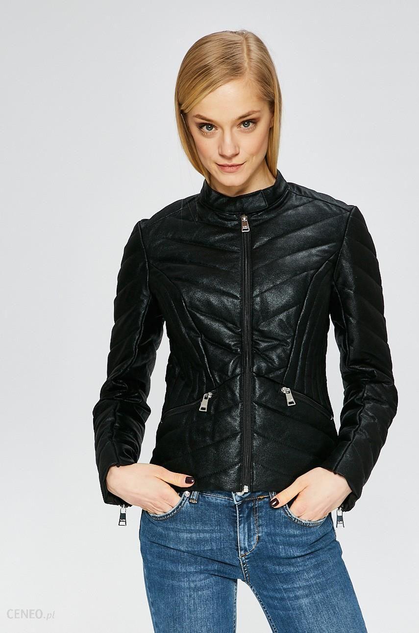 5d8c2753d37dd Guess Jeans - Kurtka Felicia - Ceny i opinie - Ceneo.pl