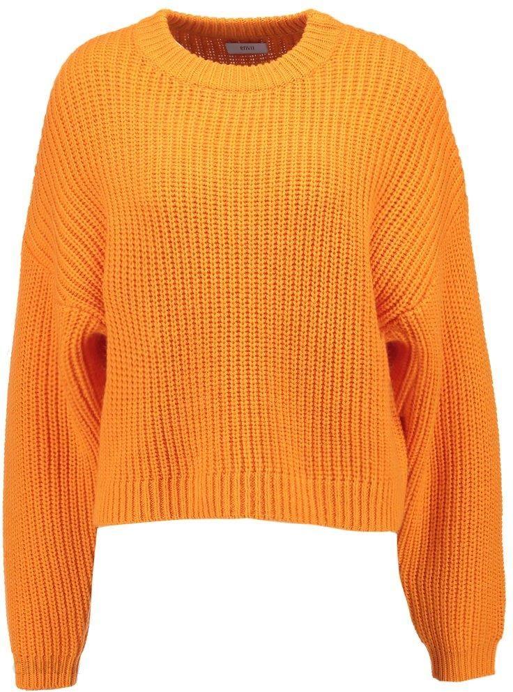 Envii ENDIEGO Sweter flame orange Ceny i opinie Ceneo.pl