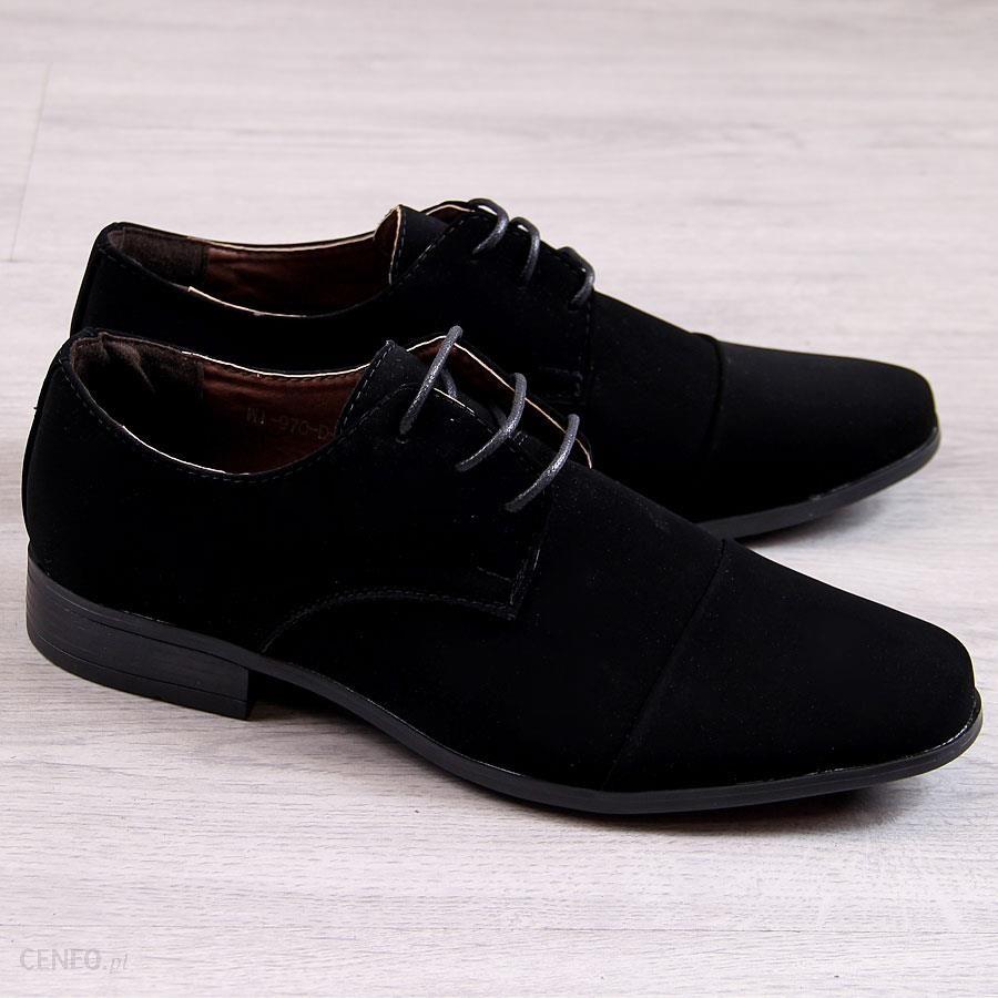 buty wizytowe męskie zamszowe