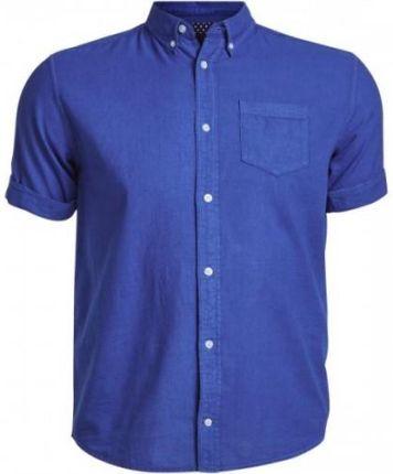 REVIEW Koszula sztruksowa o kroju slim fit z dodatkiem