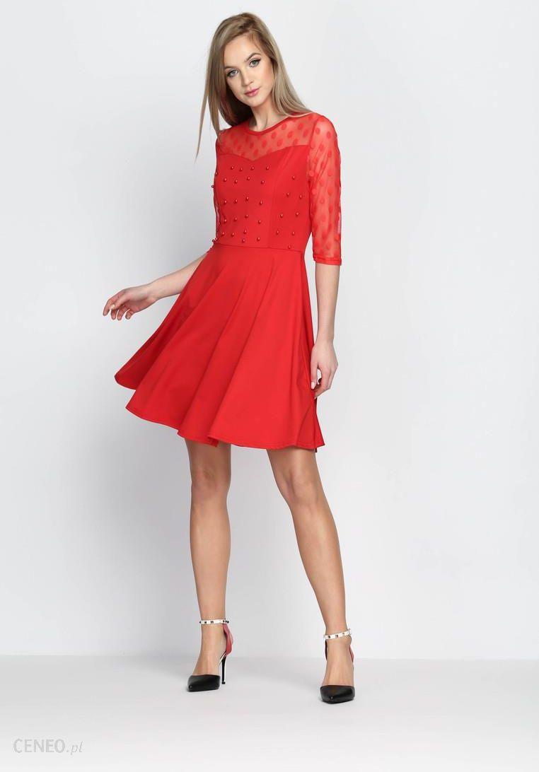 fa63d8f111 Czerwona Sukienka Love Dance - Ceny i opinie - Ceneo.pl