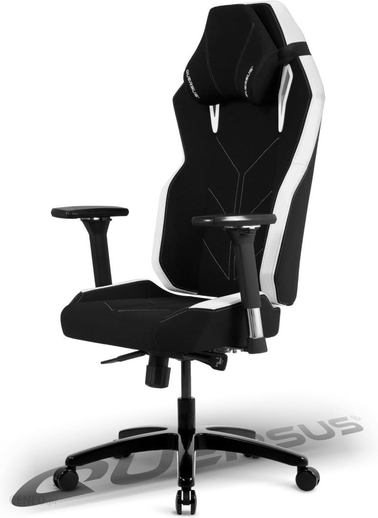 Miraculous Fotel Dla Gracza Quersus Vaos 501 Czarno Bialy Ceny I Opinie Ceneo Pl Cjindustries Chair Design For Home Cjindustriesco