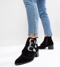 All black outfit with suede ankle boots | Ropa de moda, Moda