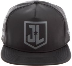 04ae460637f4b DC Comics Justice League Men s Debossed Logo Cap - Black