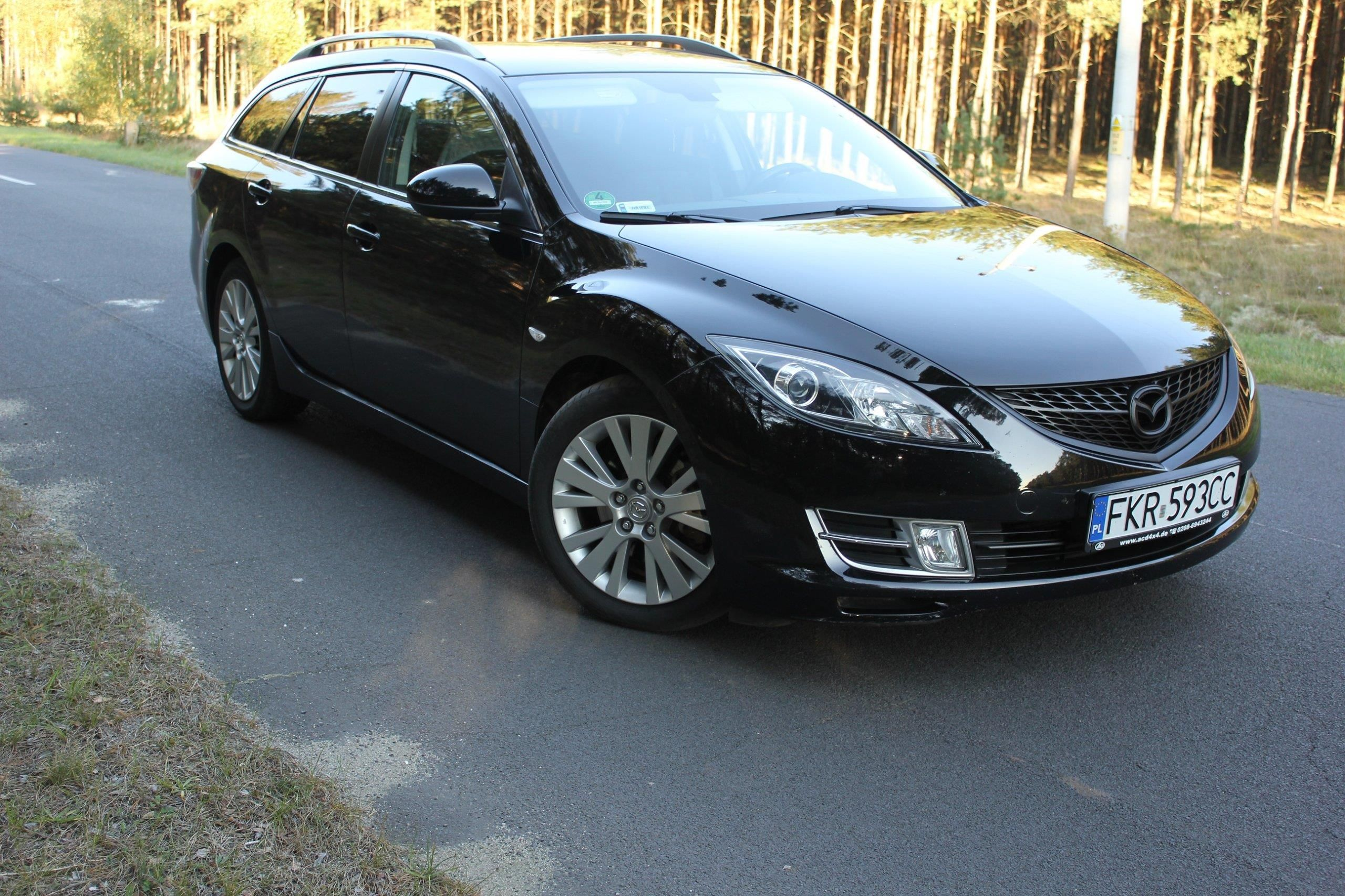 mazda 6 ii 2009 diesel 140km kombi czarny opinie i ceny. Black Bedroom Furniture Sets. Home Design Ideas