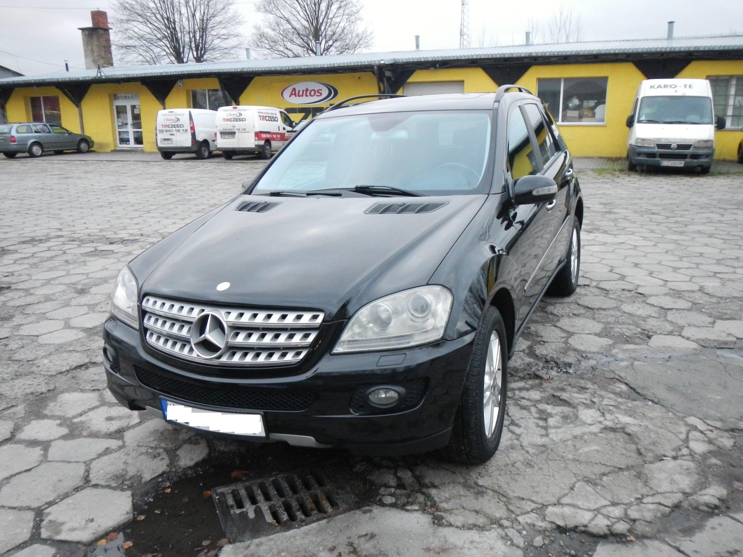 Mercedes Benz ML W164 2007 223KM czarny Opinie i ceny na Ceneo