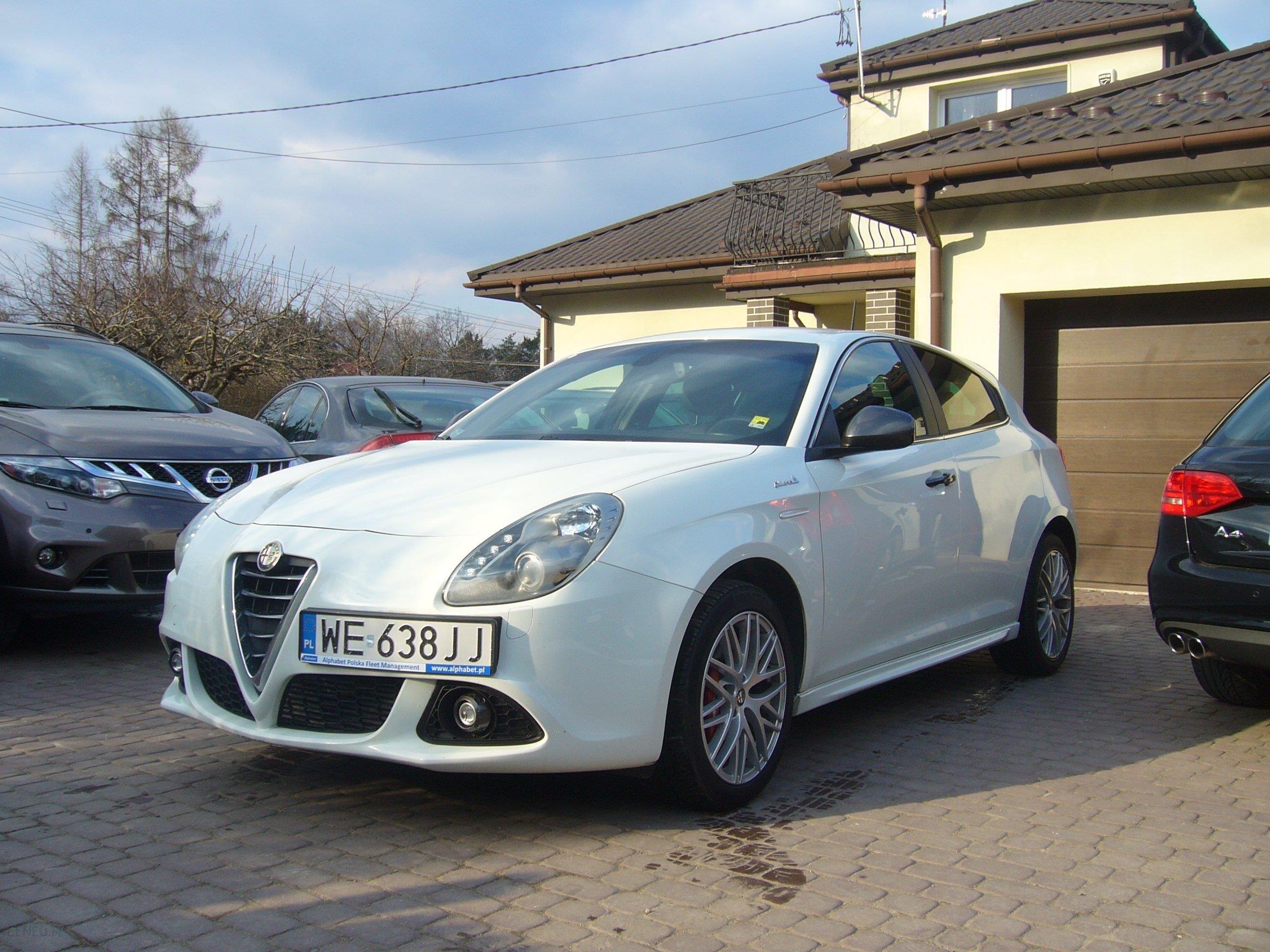 Alfa Romeo Giulietta 2014 sel 150KM hatchback biały Opinie i