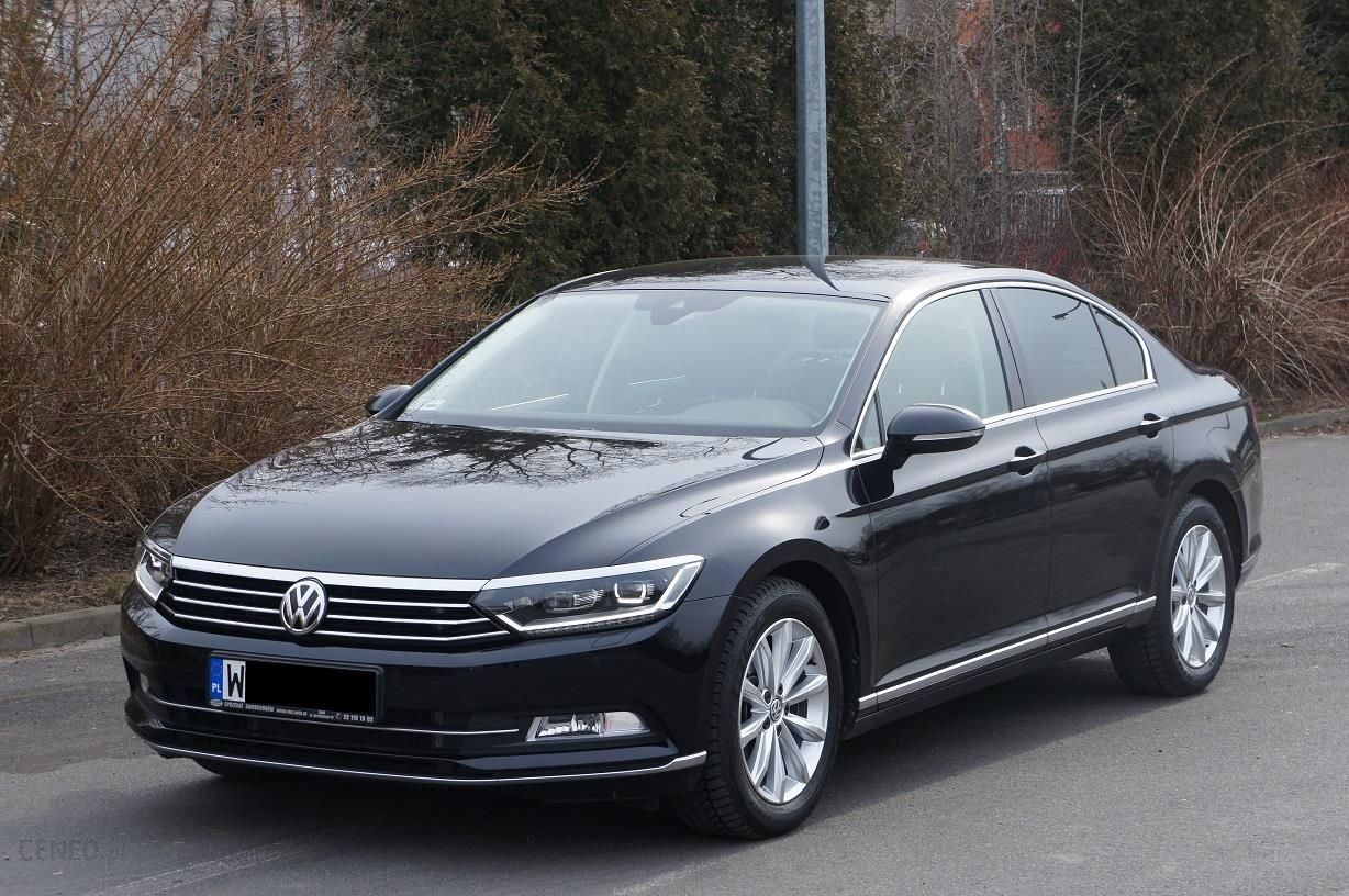 volkswagen passat b8 2016 benzyna 220km sedan czarny opinie i ceny na. Black Bedroom Furniture Sets. Home Design Ideas