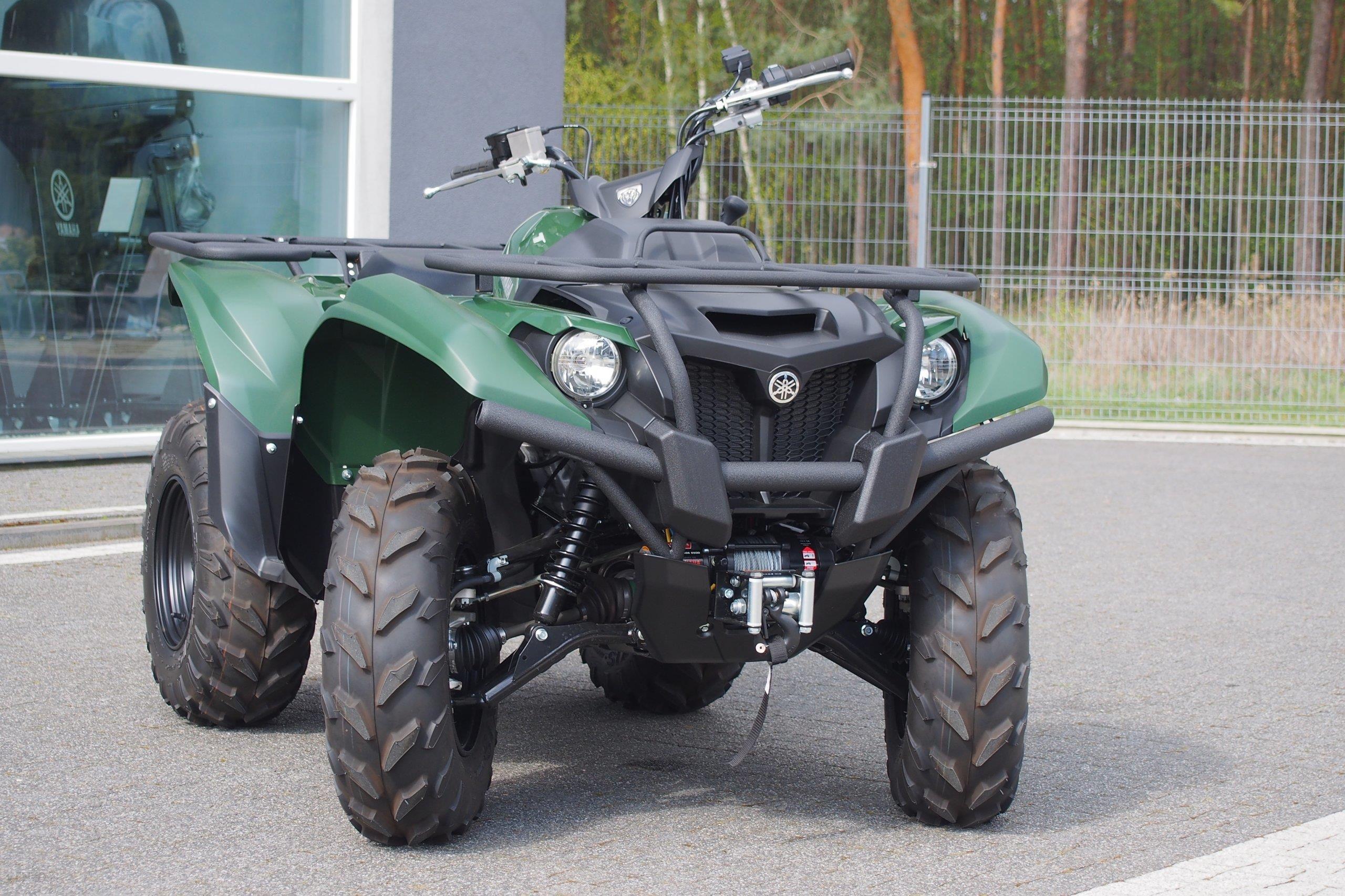 Quad Yamaha Kodiak 450 Yfm450 Ze Wspomaganiem Opinie I Ceny Na Ceneo Pl