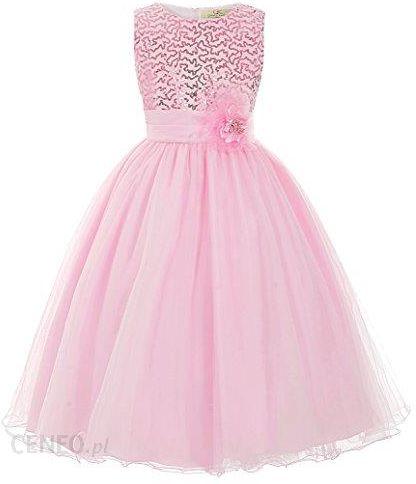 b67336d7 Amazon Grace Karin® sukienka dziewczęca księżniczka dziewczynki z kwiatami  impreza sukienka, kolor: różowy - Ceny i opinie - Ceneo.pl
