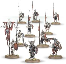 Warhammer Age Of Sigmar Vampire Counts Deathrattle Skeleton Warriors 91-06 - zdjęcie 1