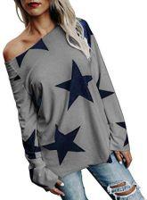 0bda52a9ba841 Amazon twifer damski sweter z dziewcząt sukienka bez ramiączek gwiazda Cold  Shoulder bluza z długim rękawem