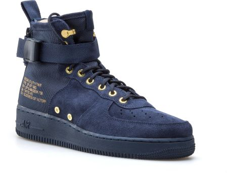 buty nike air force 1 high retro qs university blue
