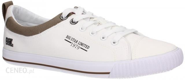 fbd466740c8f7 Trampki męskie Big Star V174200 Białe Biały r. 42 - Ceny i opinie ...