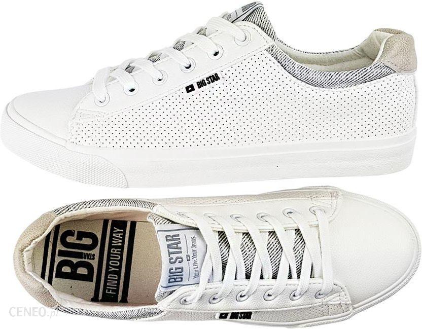 29ce33369a Białe buty męskie Big Star Y174001 trampki 43 - Ceny i opinie - Ceneo.pl