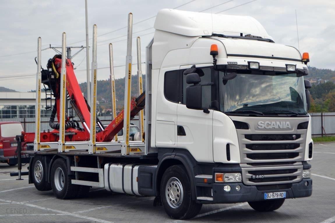 Scania G440 Do Transportu Drewna 6 50 M Hds Opinie I Ceny Na Ceneo Pl