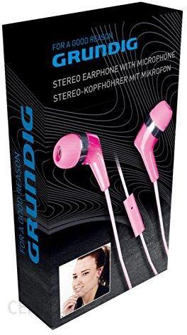 Amazon Grundig Stereo Słuchawki z mikrofonem Rosa Ceneo.pl