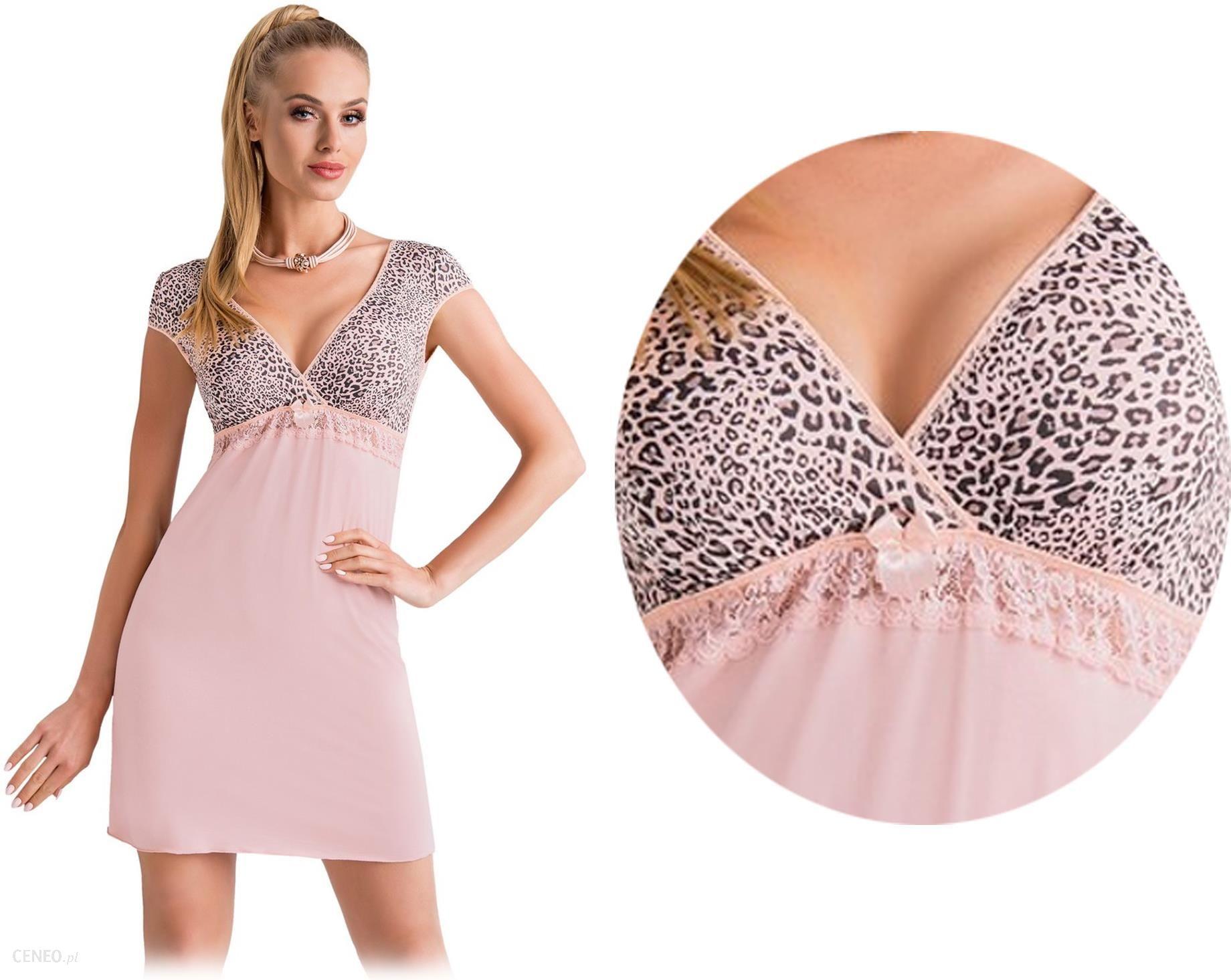 c16dbaa69b33af Koszula Donna Marika róż Wiskoza Panterka # XXL - Ceny i opinie ...