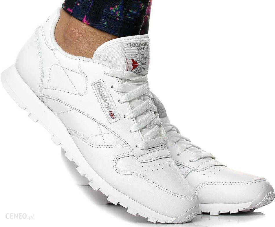Buty damskie reebok classic leather 50151 białe 2 Buty