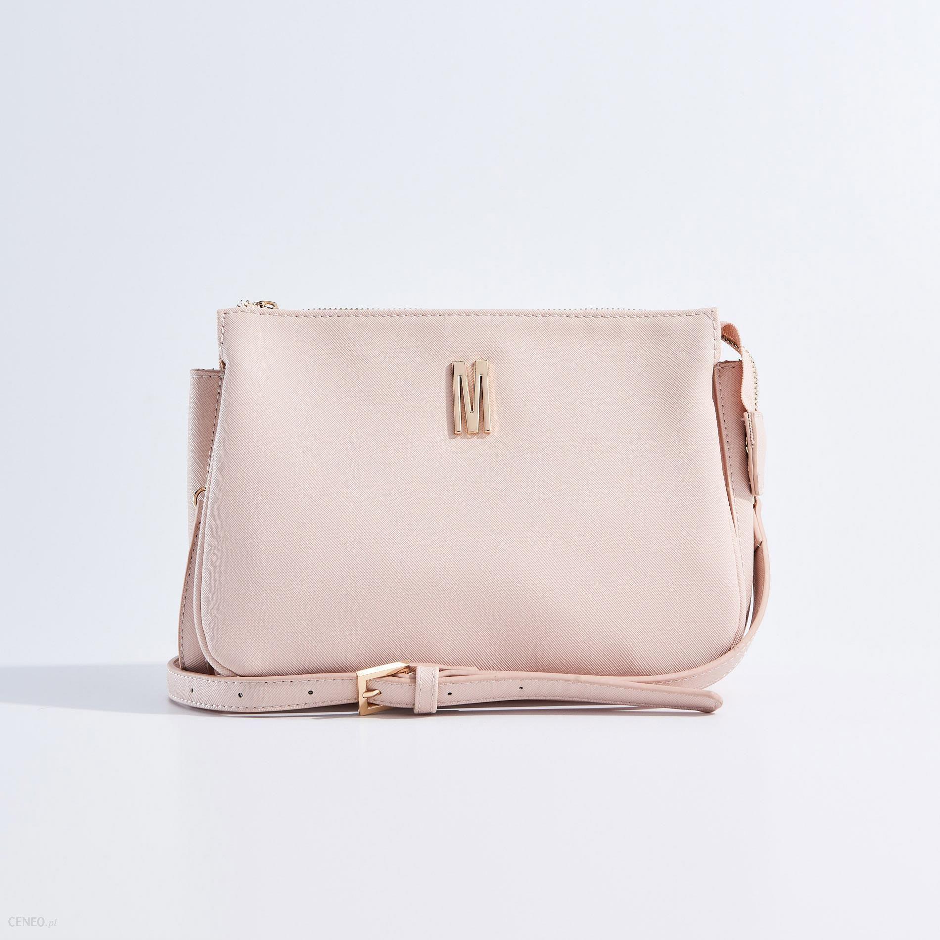 8a6767f4917a8 Mohito - Torebka typu clutch - Różowy - Ceny i opinie - Ceneo.pl