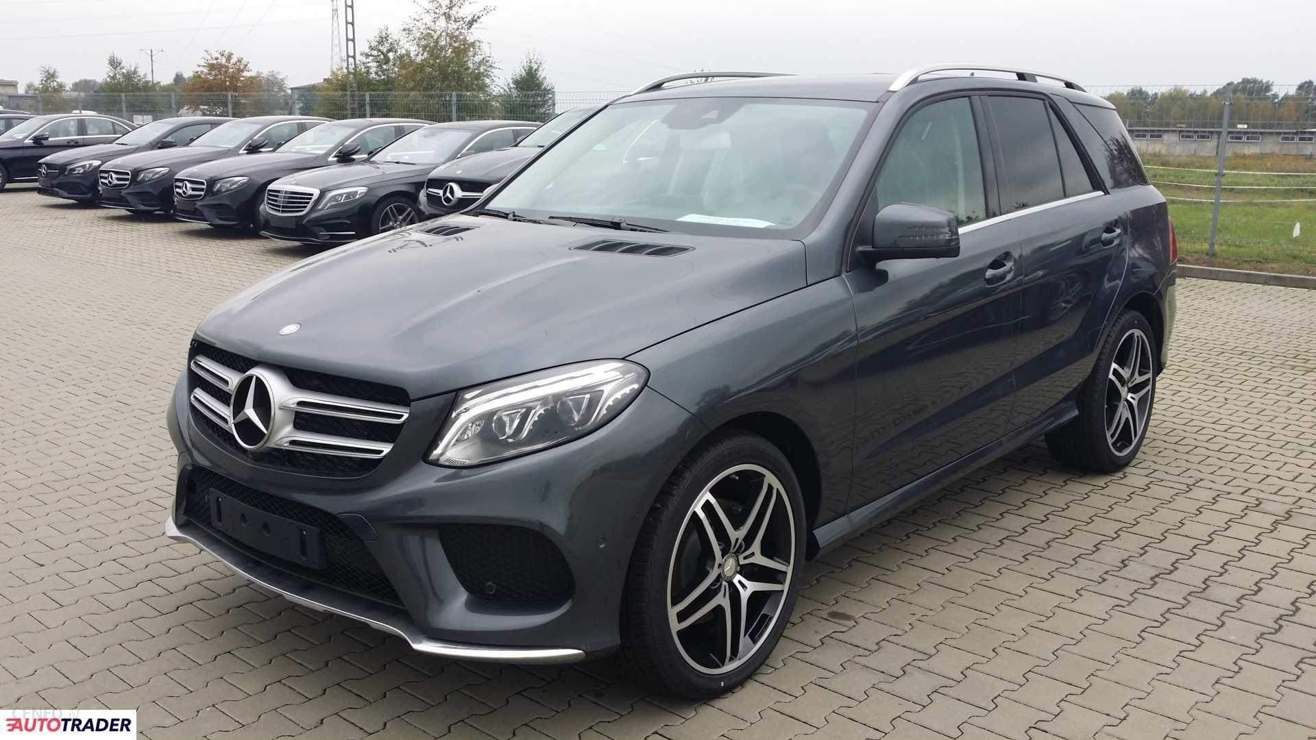 Mercedes GLE 2018 204KM suv Opinie i ceny na Ceneo