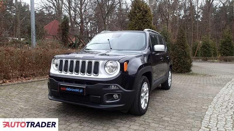 Jeep Renegade 2016 120km Terenowy