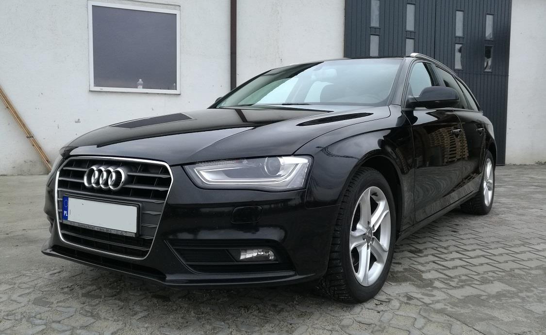 Audi A4 B8 2012 Diesel 177km Kombi Czarny Opinie I Ceny Na Ceneopl