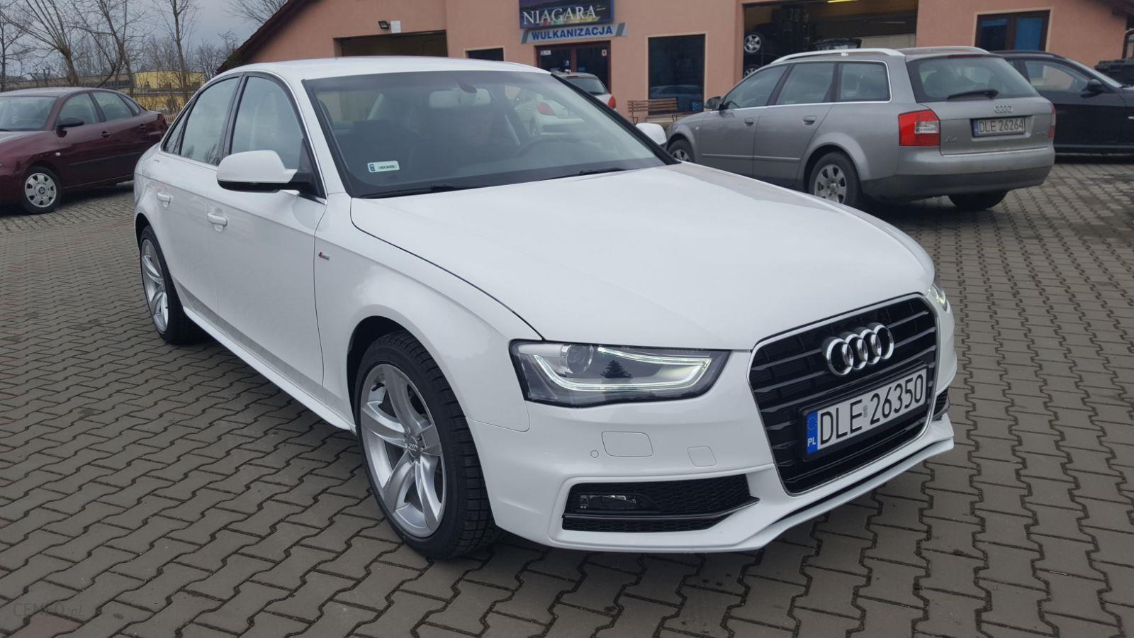 Audi A4 B8 2015 Diesel 150km Sedan Biały Opinie I Ceny Na Ceneopl