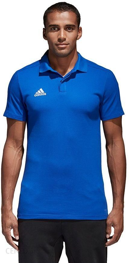 Koszulka męska adidas Condivo 18 Cotton Polo niebieska