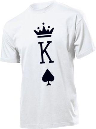 c594b08a0 Koszulka męska Krol Pik Dla Niego Walentynki M Allegro