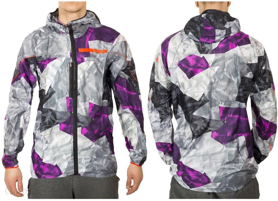 Kurtka trekkingowa wiatrówka adidas TERREX roz.M