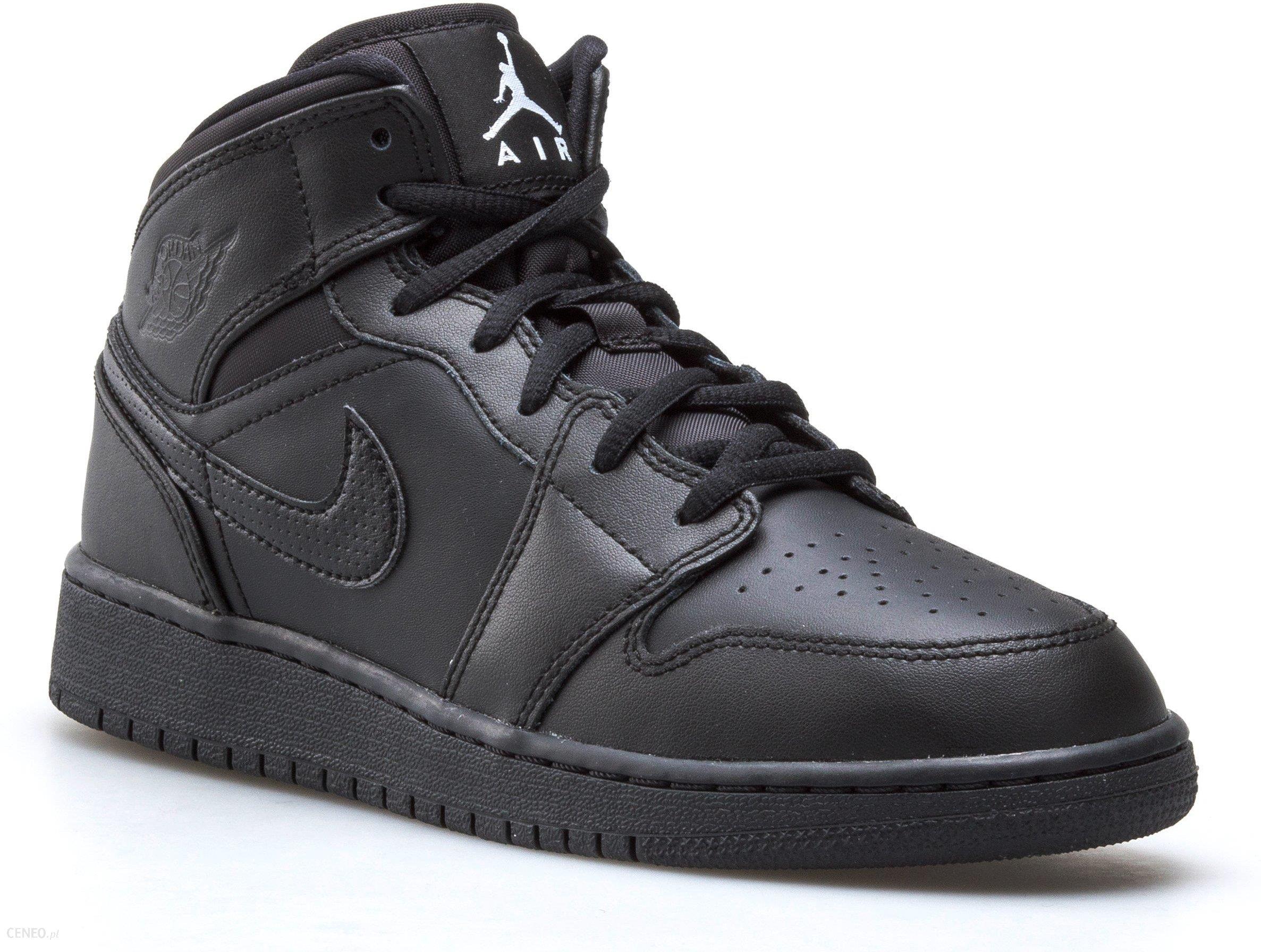 Buty Nike Damskie Air Jordan 1 MID Bg 554725 049 Ceny i opinie Ceneo.pl
