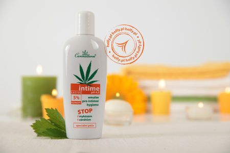 Cannaderm Intime - Emulsja do Higieny Intymnej 150ml