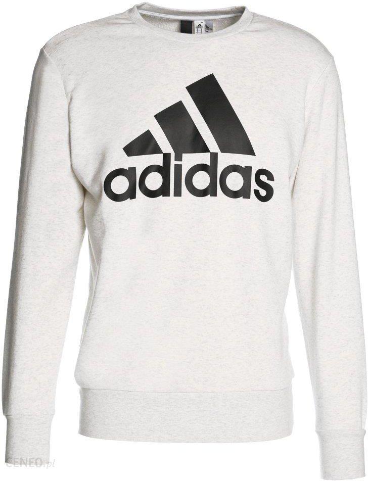 adidas Performance ESS BIGLOG CREW Bluza whiteblack