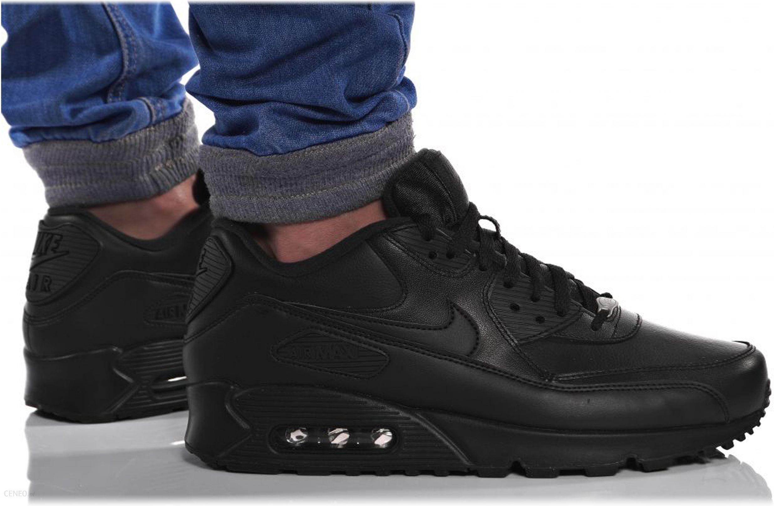 Buty Nike Air Max 90 Ultra Br 725222 600 czarne Ceny i