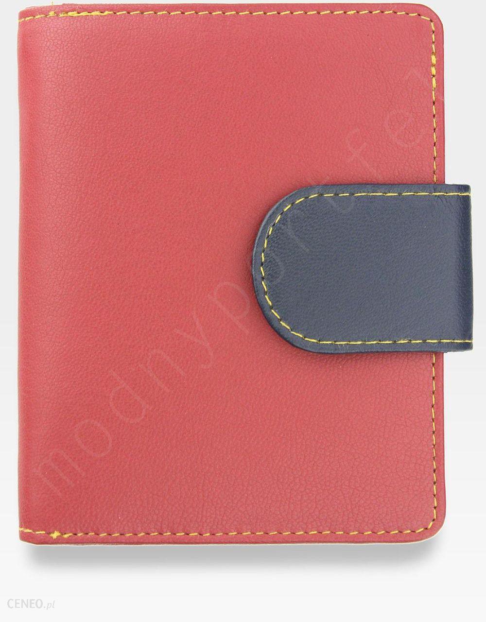 065e3ada35fe3 YOSHI Średni Portfel Damski Skórzany Czerwony Multi Y By Yoshi Y1101 26 -  zdjęcie 1