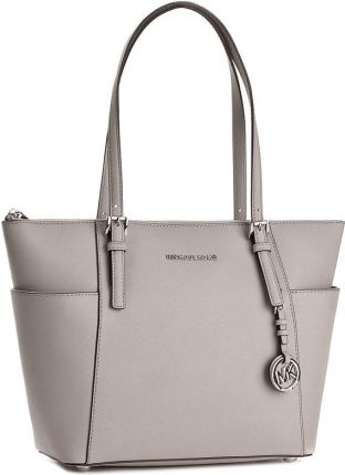 fe238f8c92fed MICHAEL Michael Kors JET SET TRAVEL Torba na zakupy pearl grey ...
