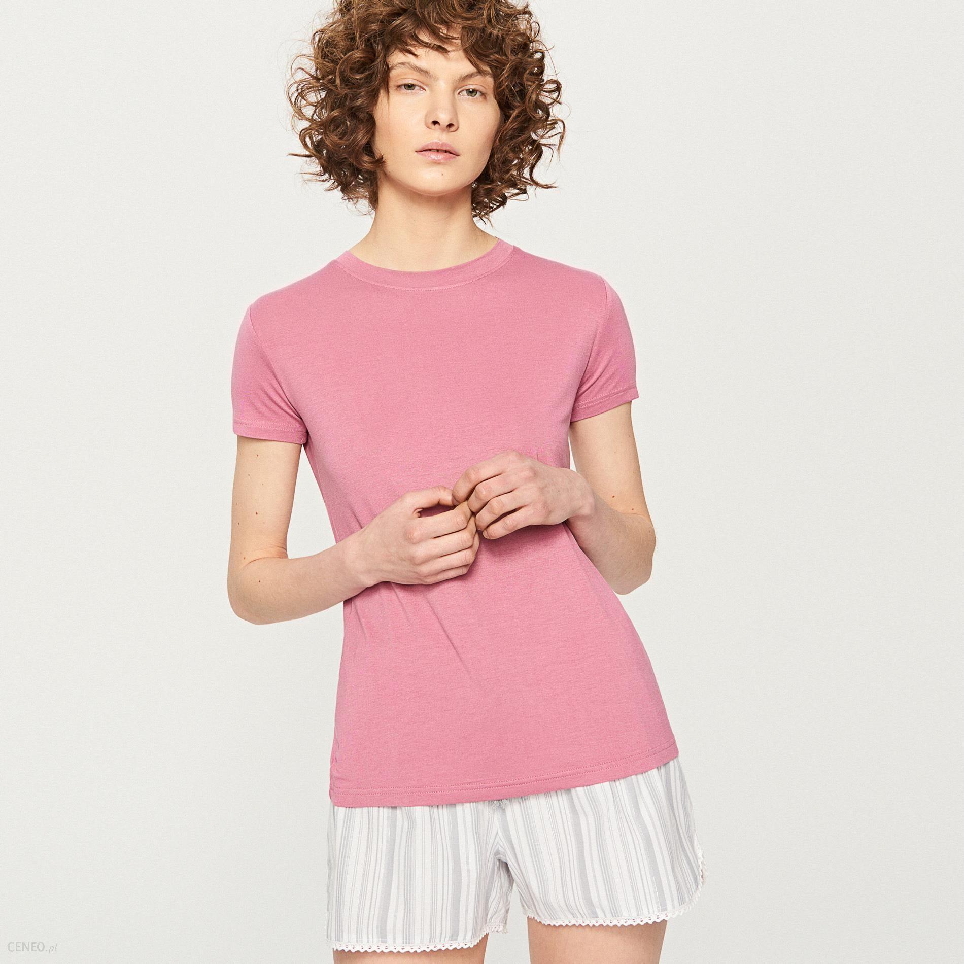 7b01de5a5d5ada Reserved - Dwuczęściowa piżama - Różowy - Ceny i opinie - Ceneo.pl