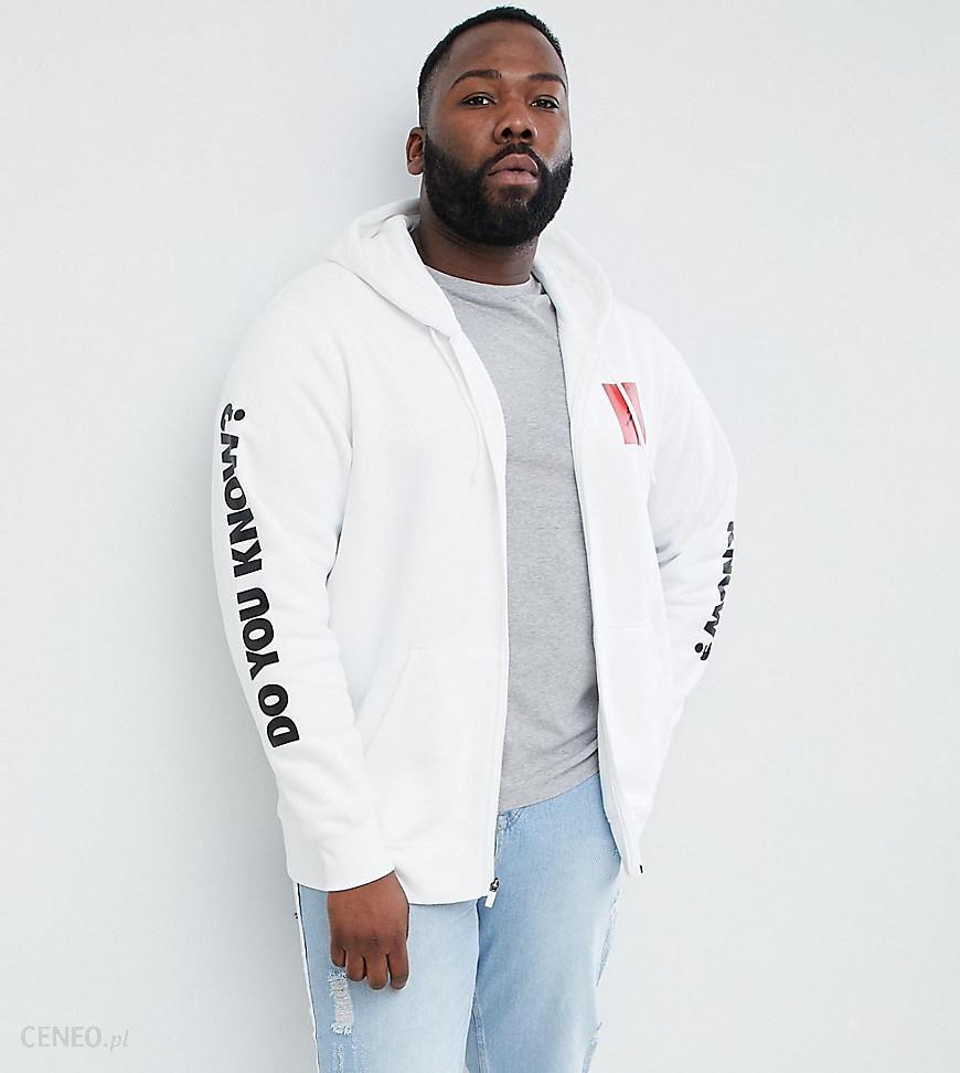 Nike aj3 full zip hoodie with arm print in white 943924 100