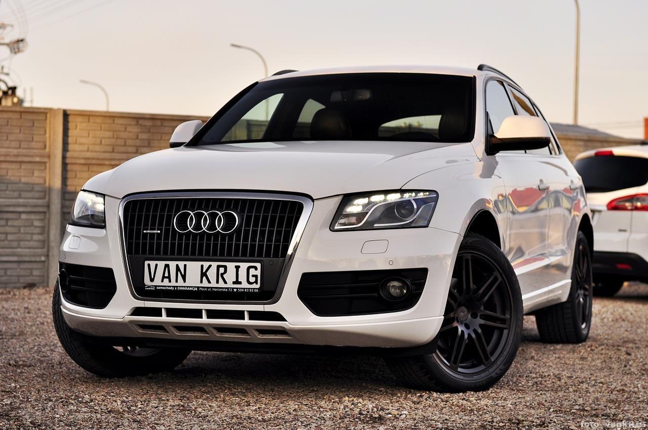 Audi Q5 8r 2009 Diesel 170km Suv Biały Opinie I Ceny Na Ceneopl