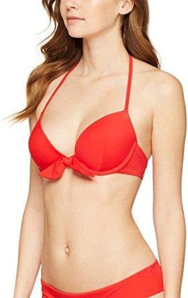 Label: 34C Red Coat 4186 Rot 85B Marke: Iris /& Lilly Damen Bikinioberteil wattiert mit Knotendetail