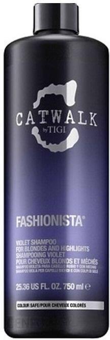 Tigi Szampon do włosów blond i z pasemkami Catwalk 750ml